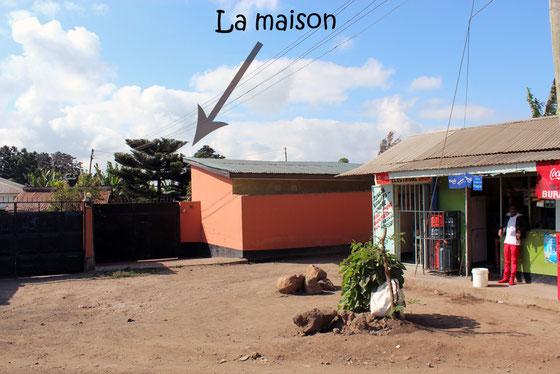 Mon lieu de vie à Arusha.