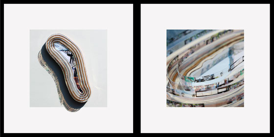 Oeuvres d'art de Laurent Valera sur le thème de l'estuaire de la Gironde, de la beauté de cette espace naturel et de ses fragilités écologiques et paysagères