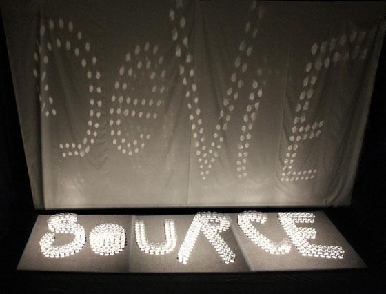 """""""Source de Vie"""" lors de  Nuit Blanche Paris 2014"""