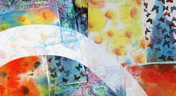 Dynamique, bucolique et poétique aspirations d'eau pour l'artiste bordelais et ses nouvelles peintures