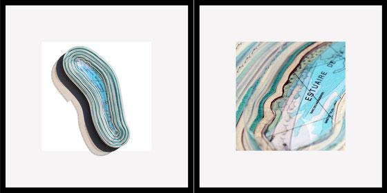 L'estuaire de la Gironde et ses aloses ou l'art et la manière de l'artiste Laurent Valera d'aborder l'intime de se vaste plan d'eau