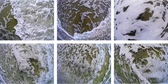 Vidéo d'art de l'artiste Laurent Valera sur la mémoire de l'eau