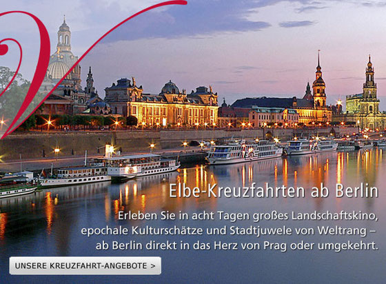 Flusskreuzfahrt Elbe Kreuzfahrten ab Berlin Hamburg 2016 2017 buchen