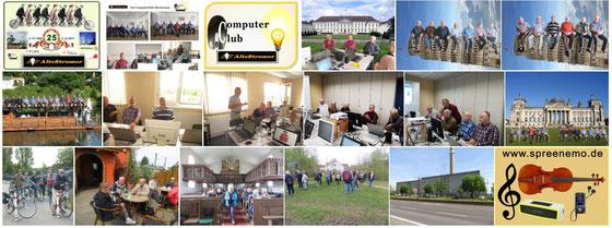 """Bilder vom Seniorenclub """"Alte Stromer"""""""