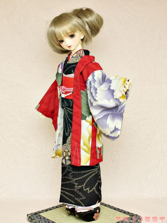 MSD 羽織,SDM kimono,16inch doll