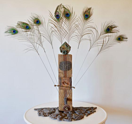 """Kai Wolf - """"NARKISSOS"""", kinetische Skulptur 2020"""