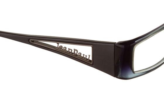 Occhiali da vista Jean Paul Gaultier 530 09MZ. Colore: nero sfumato. Materiale: plastica.
