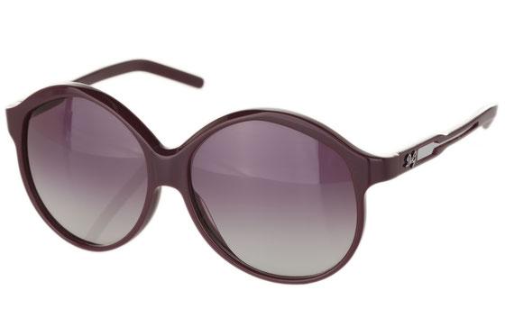 Occhiali da sole donna Dolce & Gabbana Modello: 3014 Colore: 634/8G viola. Colore lenti: grigio sfumato. Calibro 60-14. Forma: squadrato. Materiale: plastica. Protezione UV 100%