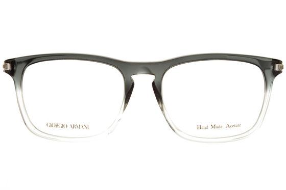 Occhiali da vista uomo Giorgio Armani 824 UQU. Colore: nero. Forma: squadratoe. Materiale: plastica.