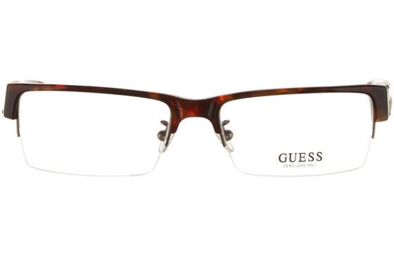 Occhiali da vista uomo Guess 1592 TO. Colore: Tartarugato. Forma: squadrato. Materiale: metallo.
