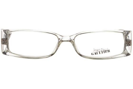 Occhiali da vista Jean Paul Gaultier 530 0P79. Colore: Trasparente e nero. Materiale: plastica.