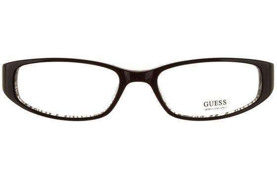 Occhiali da vista donna Guess 1479 BLKZ. Colore: nero e zebrato. Forma: rettangolare. Materiale: plastica.
