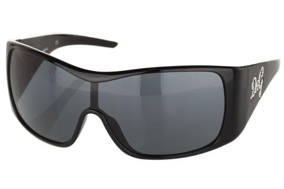 Occhiali da sole uomo Dolce & Gabbana Modello: 8033B Colore: 501/87 nero. Colore lenti: grigio. Calibro 1-32. Forma: squadrato. Materiale: plastica. Protezione UV 100%