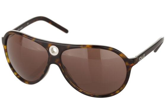 Occhiali da sole uomo Dolce & Gabbana Modello: 3018 Colore: 502/73 tartarugato. Colore lenti: marrone. Calibro 64-11. Forma: pilot. Materiale: plastica. Protezione UV 100%