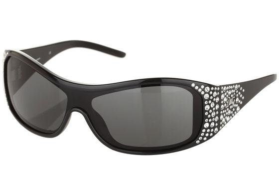Occhiali da sole donna Dolce & Gabbana Modello: 8041B Colore: 501/87 nero. Colore lenti: grigio. Calibro 1-26. Forma: squadrato. Materiale: plastica. Protezione UV 100%