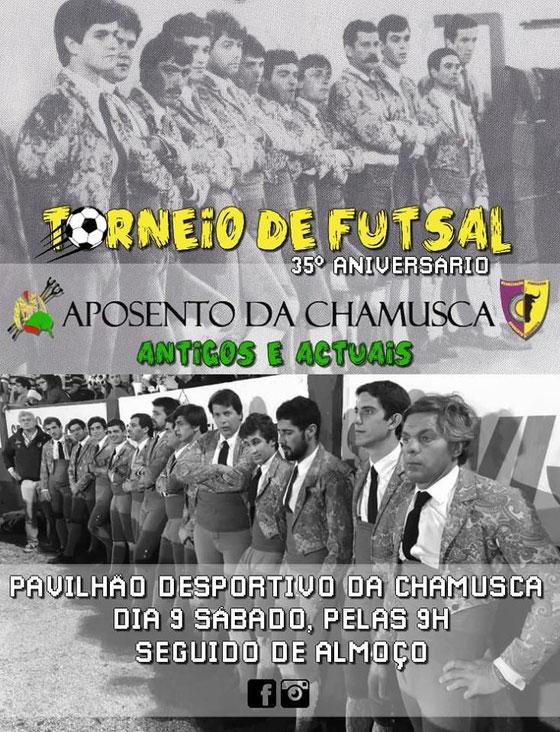 Torneio de Futsal  9 de Março - Chamusca.