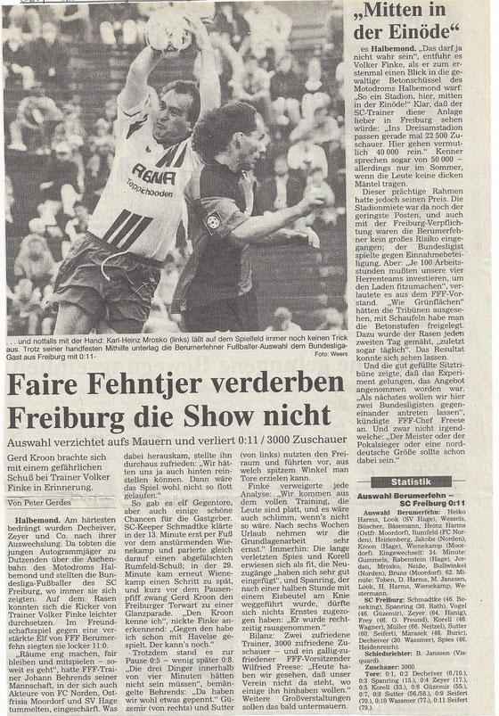 (Ostfriesen-Zeitung vom 15. Juli 1996)