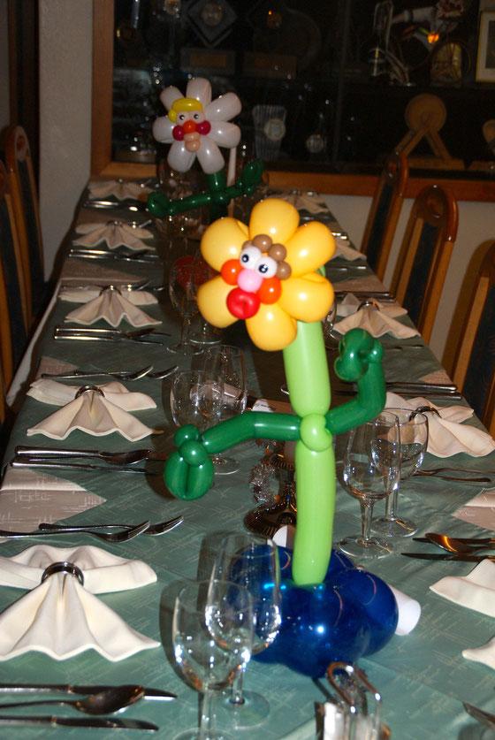 Mr.Balloni.ch,Deko,  Geburtstag, Überraschung, Tischdekoration,Firma, Betrieb, Feier, Jubiläum