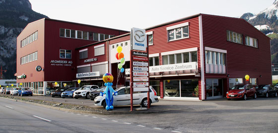 Mr. Balloni.ch,  Heliumballon, Helium,, Überraschung, ,  Wegweiser, Kundenstopp, Firma, Betrieb
