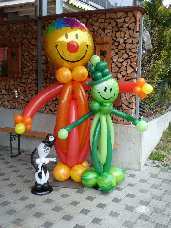 Mr. Balloni.ch, Dekoration, Ballonmänner, Ballonmann, Kinder, Pirat, Jungs