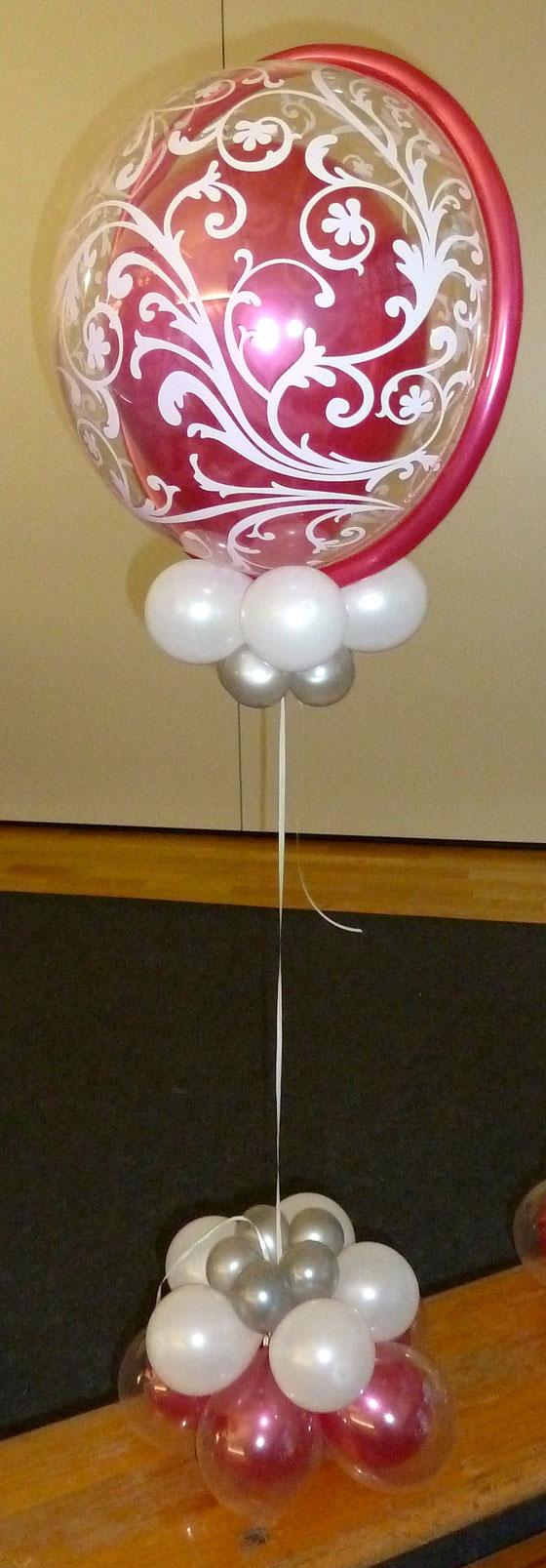 Mr.Balloni.ch,Deko,  Geburtstag, Überraschung, Tischdekoration,Firma, Betrieb, Feier, Jubiläum, Helium, Heliumballons