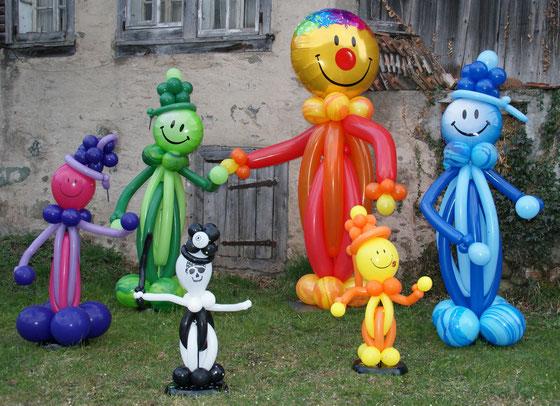 Ballonmann, Ballonmänner, Karneval, Fasnacht, Pirat, Kinder, Raumdeko, Tag der offenen Tür, Kundenstopper, Mr. Balloni
