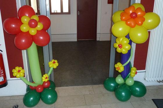 Ballonblumen, Blumen, Ballonkunst, Frühling, Geschenk, Mr. Balloni