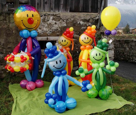 Mr. Balloni.ch, Dekoration, Raumdeko, Ballonmann, Ballonmänner,Helium,Kinder,Fasnacht