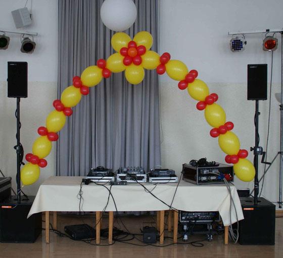 Mr. Balloni.ch, Dekoration, Raumdeko,Geburtstag, Jubiläum, Helium