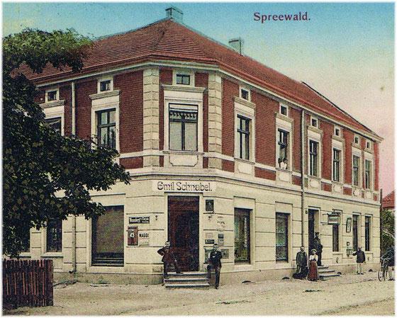 Um 1915.