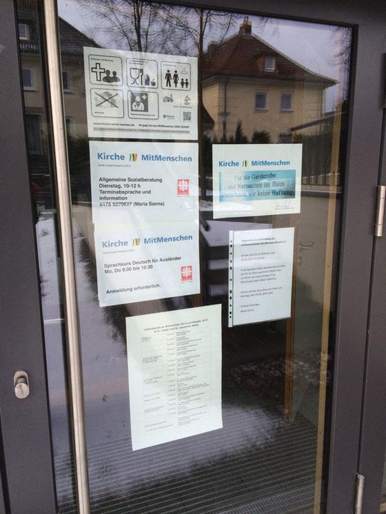 Hilfe und Unterstützung für Menschen in besonderen Lebenslagen bei den Katholiken in St. Joseph am Rothenberg in Kassel (Stand: Dezember 2014) - Wir danken allen Wohltätern und Spendern!