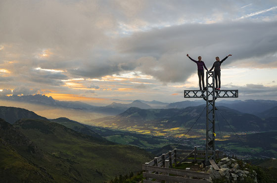 Wildseeloderhaus, Gipfel, Pillerseetal, Bergbahnen Fieberbrunn,