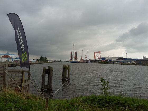 Schwimmkran (Wind Lift)