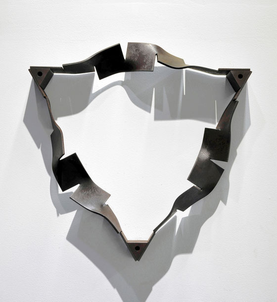 Metamorphosis - saṃsāra ( rinne ) <No.M-39>   mild steel  / H.46x46x8cm / 2013