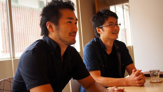 TATAKIAGE Japanの鈴木(左)と松本(右)。2人の強い思いもまた、このスペースに込められている。