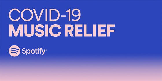 Spotify COVID-19 Music Relief Project