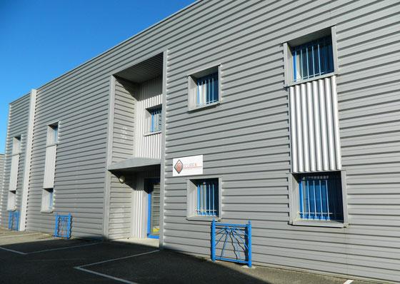 Accueil Securex-sas bâtiment siège à Valence