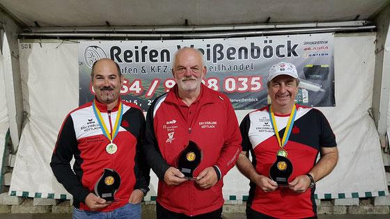 Vereinsmeisterschaft 2019 - Zielbewerb Herren - TOP 3