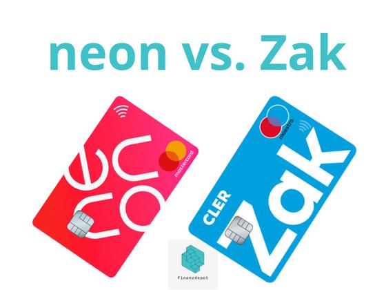 Neon vs. Zak, Gegenüberstellung der Zahlkarten