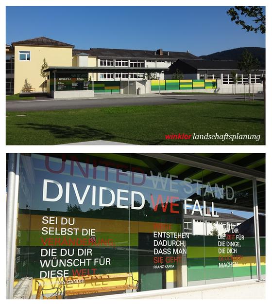 waldhausen im strudengau - wartebereich | bushaltestelle