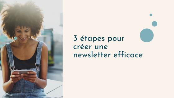 Newsletter professionnelle