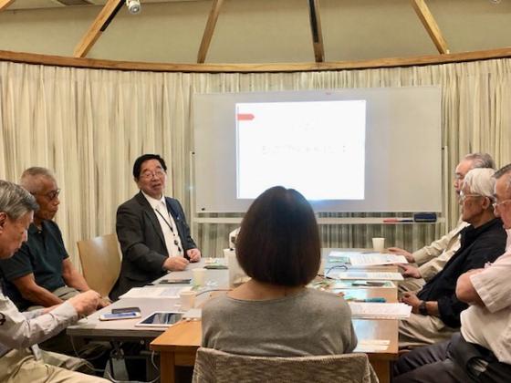 ☆協会の川村事務局長様から最近の協会の活動紹介をいろいろとご説明いただきました。