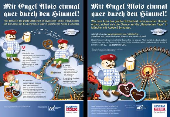 Anzeigen: Kunde Ingram Micro / Agentur Typwes
