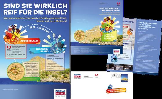 Flyer & Anzeige: Kunde Ingram Micro / Agentur Typwes