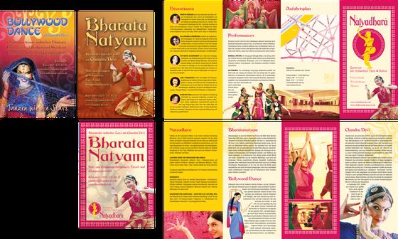 Flyer und Plakate: Chandra Devi/Natyadhara