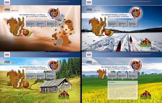 Webseite: Ingram Micro / Typwes / Pitch
