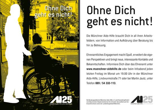 Postkarte Ehrenamt