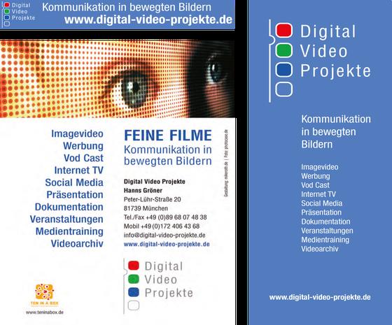 Werbebanner, Flyer und Roll-up: Hanns Gröner