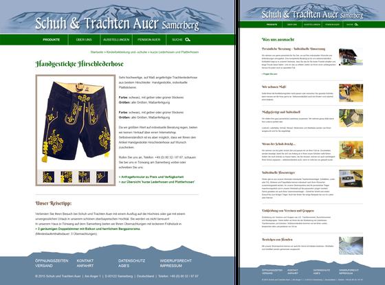 Schuh & Trachten Auer Samerberg (Uwe Hog – UHC Medien)