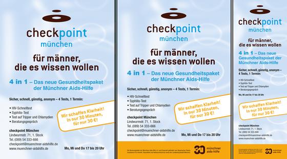 Flyer, Plakat und Anzeige: Check Point 2014